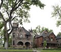 Houses in the historic Pitkin Place residential district in Pueblo, Colorado LCCN2015632463.tif