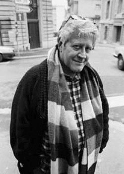 Hugo Pratt (1989) by Erling Mandelmann - 2
