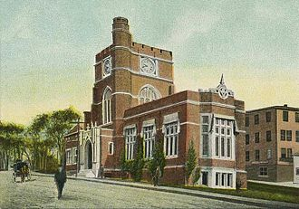 Ralph Adams Cram - Hunt Memorial Library, Nashua, New Hampshire, c. 1906