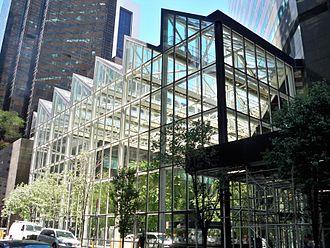 590 Madison Avenue - Atrium containing public space