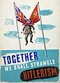 INF3-324 Unity of Strength Together we shall strangle Hitlerism.jpg