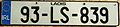 IRELAND, COUNTY LAOIS 1993 -LICENSE PLATE - Flickr - woody1778a.jpg