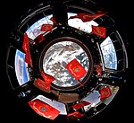ISS-53 Flags of the Marine Corps in the Cupola.jpg