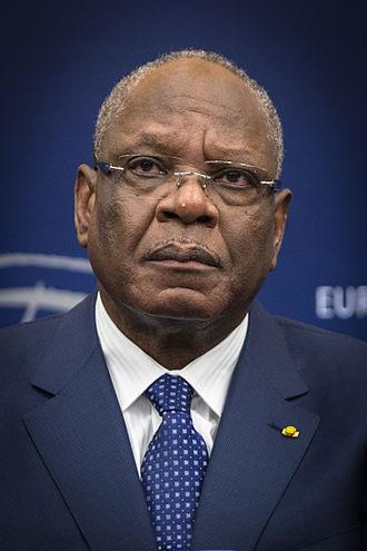Minister of Foreign Affairs (Mali) - Image: Ibrahim Boubacar Keïta par Claude Truong Ngoc décembre 2013 (cropped)