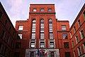 Il Palazzo dei Sindacati, ora Camera del Lavoro, Milano. Veduta prospettica di sezione della facciata (1930-1933).jpg