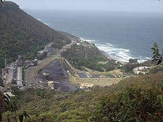 South Coast railway line, New South Wales railway line in New South Wales, Australia