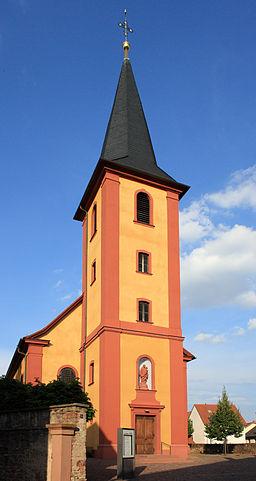 Ilvesheim St. Peter Kirche 20100711