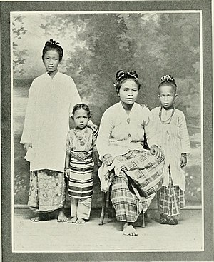 "Kelantanese Malay people - Image: Image from page 218 of ""Women of all nations, a record of their characteristics, habits, manners, customs and influence;"" (1908) (14583575210)"