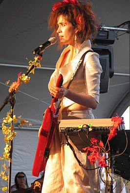 Imogen Heap op Coachella Valley Music and Arts Festival
