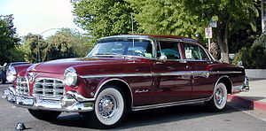 Imperial (automobile) - 1955 Imperial Four Door Sedan