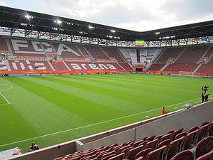 Augsburg Arena - Image: Impuls Arena Augsburg 2011