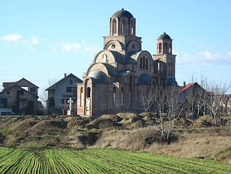 Inđija - New Orthodox church
