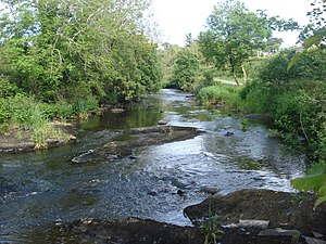 Inagh River - The Inagh river upstream