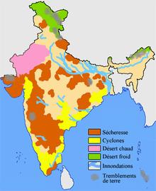 Carte Hydrographique Inde.Geographie De L Inde Wikipedia
