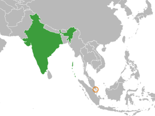 Diplomatic relations between the Republic of India and the Republic of Singapore