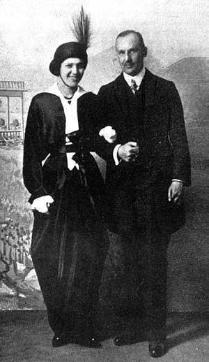 Ivar Kreuger - Ingeborg Eberth and Ivar Kreuger. Photo from 1914.