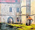Innenhof Burg Altena Schuettorf 1830 Albertus Brondgeest.jpg