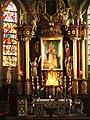 Inowrocław, kościół par. p.w. św. Mikołaja - wnętrze kościoła - ołtarz główny.JPG