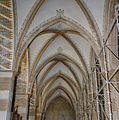 Interieur noorder zijbeuk, overzicht gewelven, tijdens restauratie - 's-Gravenhage - 20327943 - RCE.jpg