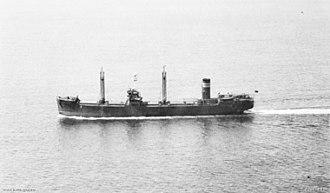 SS Iron Knight (1937) - Iron Knight in 1940