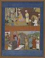 Islamic - Two Illustrations from a Manuscript of Gulistan by Sadi - Walters W66849A.jpg