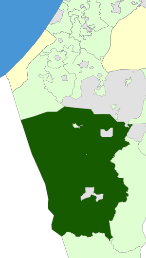 Israel Map - Ramat Negev Regional Council Zoomin.svg
