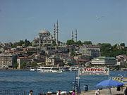 Istanbul - Süleymaniye camii dal Corno d'oro - Foto G. Dall'Orto 28-5-2006