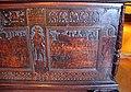 Italia settentrionale, cassone con decorazioni a china, 1550-1600 ca. tempio di artemide efesina.JPG