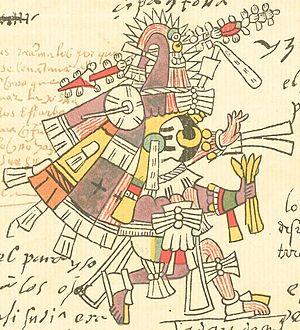 Itztlacoliuhqui - Itztlacoliuhqui in the Codex Telleriano-Remensis