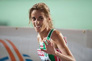 2010 European Cross Country Championships - Race winner Jessica Augusto also led Portugal to the team title.