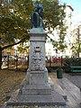 József Fodor memorial, Laurel wreath, 2018 Józsefváros.jpg
