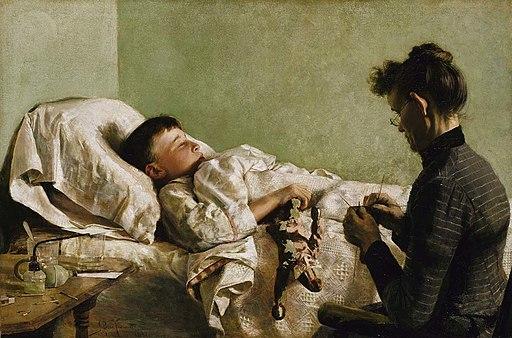J. Bond Francisco - The Sick Child - 1991.9 - Smithsonian American Art Museum
