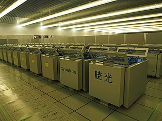 Gyoukou Japanese supercomputer