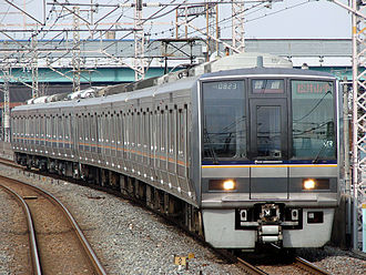 207 series - 207 series in revised livery, March 2008