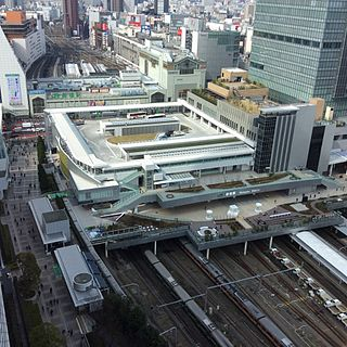 Shinjuku Station Major railway and metro station in Tokyo, Japan