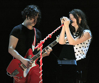 The White Stripes American rock duo