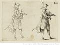 Jacques Callot, Les caprices, Le joueur de violon.png