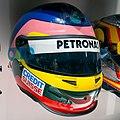 Jacques Villeneuve 2006 helmet 2017 Museo Fernando Alonso.jpg