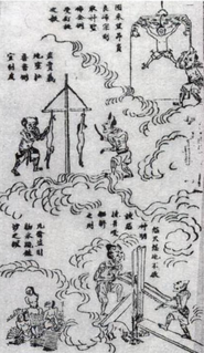 """Realm of the dead or """"hell"""" in Chinese mythology"""