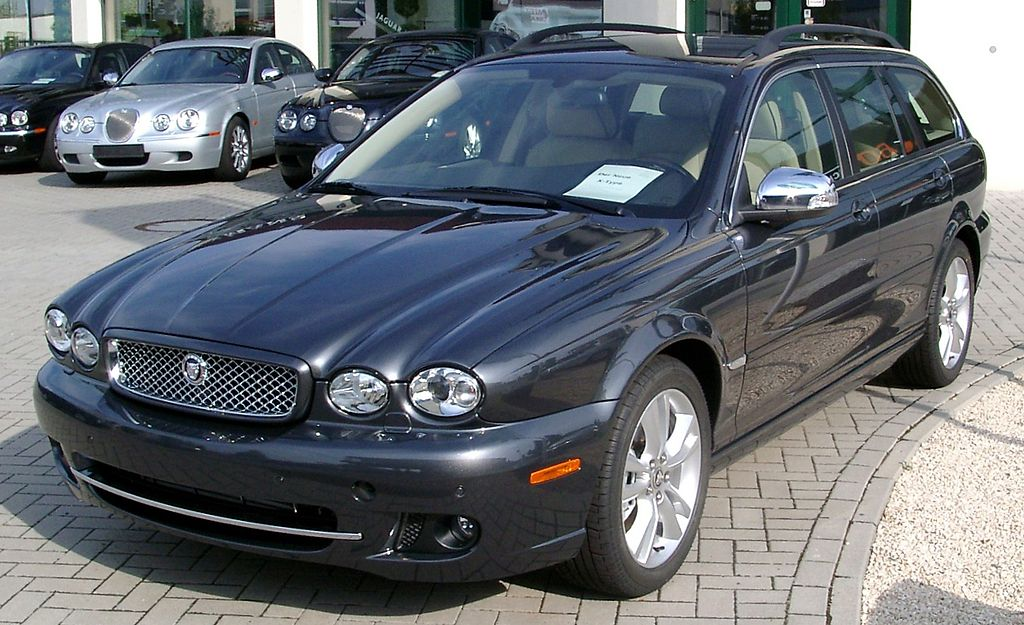 file jaguar x type estate front wikimedia. Black Bedroom Furniture Sets. Home Design Ideas