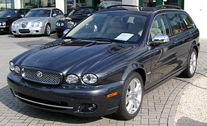 Jaguar X-Type - Jaguar X-Type estate (2008 facelift)