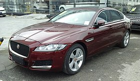 Jaguar XF X260 01 China 2016-04-16.jpg
