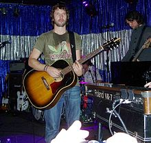 James Blunt performing in February 2006