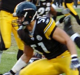 James Farrior American football player, middle linebacker