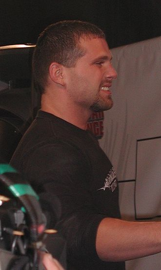 Jamie Noble - Noble at the 2003 WWE Fan Axxess.