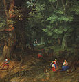 Jan Brueghel (I) - Rest on the Flight to Egypt, detail - WGA3585.jpg