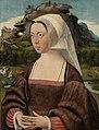 Jan Jansz Mostaert - Portret van een onbekende vrouw - SK-A-3843 - Rijksmuseum.jpg