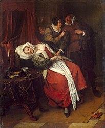 Jan Steen: Doctor's Visit