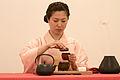 Japanese tea ceremony 20100502 Japan Matsuri 06.jpg