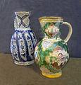 Jarros de cerámica rusa S.XVIII.Museo de Arte ruso S.Petersburgo.JPG
